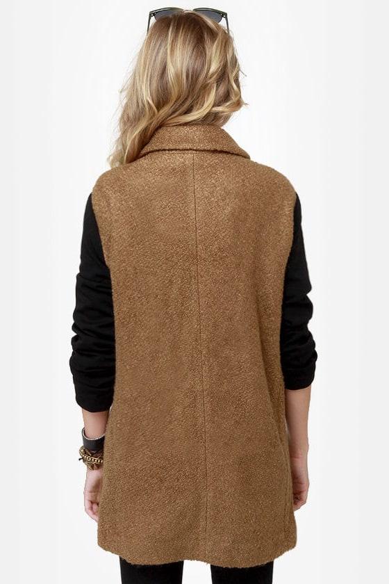 Uptowner Black and Brown Coat