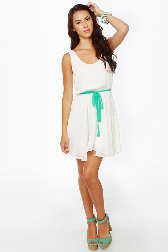 Lucy Love Monique Ivory Dress