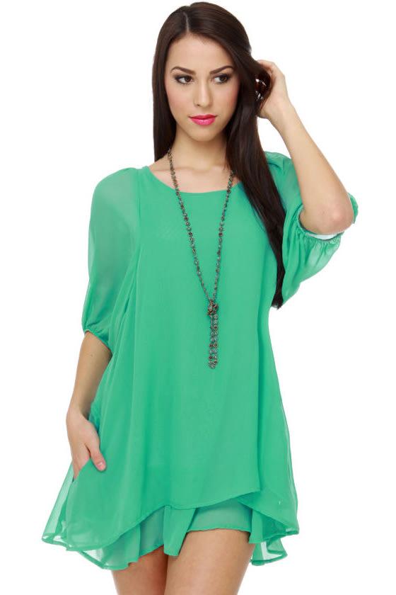 Lucy Love Gabriella Mint Green Dress