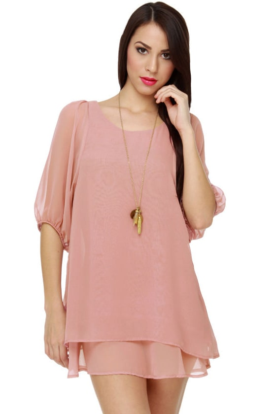 Lucy Love Gabriella Pink Dress