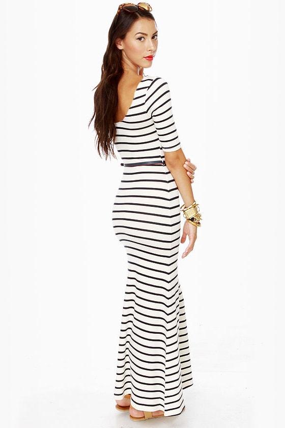 Tall Tales Striped Maxi Dress at Lulus.com!