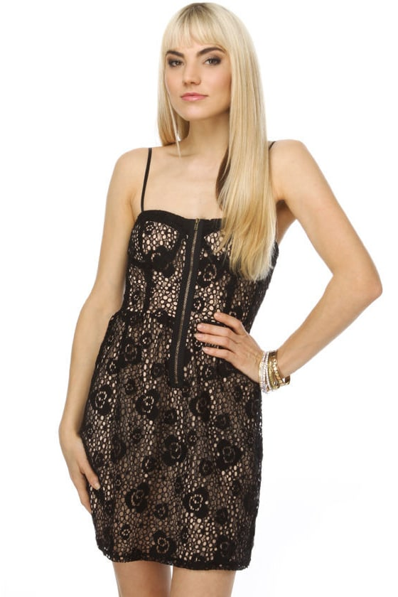 Van Lear Rose Black Lace Dress