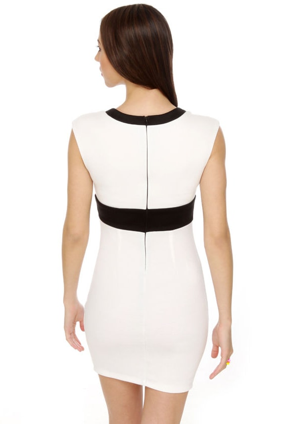 Mistress and Commander White Dress