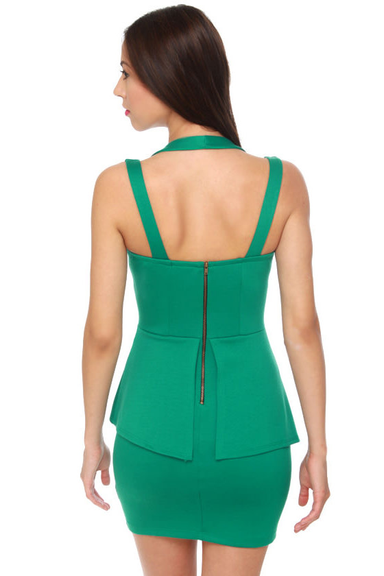 Places to Go Teal Dress