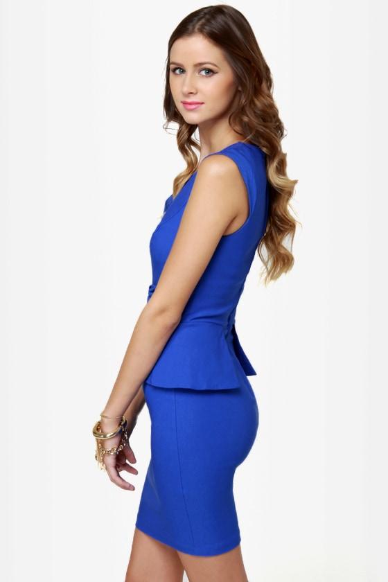Chic to Chic Royal Blue Dress