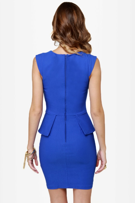 Chic to Chic Royal Blue Dress at Lulus.com!