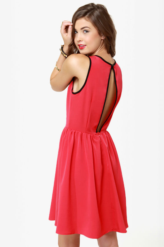 Calamity Jane Red Lace Dress at Lulus.com!