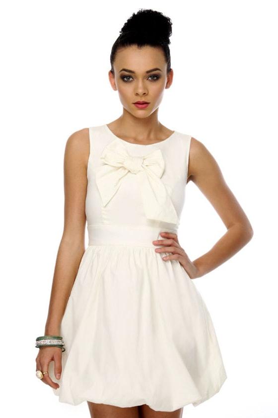 And I Love It Ivory Dress