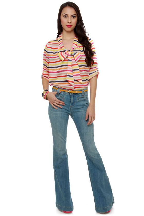 Fruited Plains Multi Striped Top