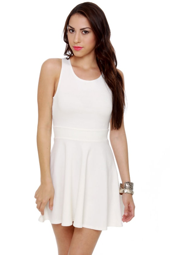 Call Me Baby Ivory Dress