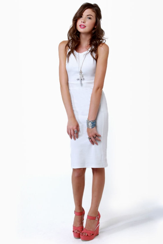Wear-withal Ivory Dress