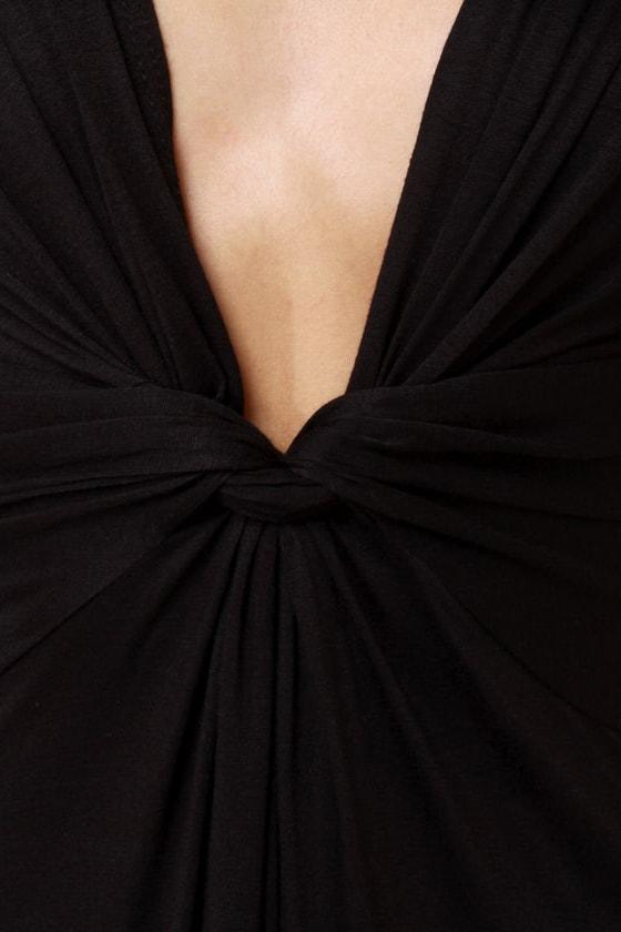 Grand Central Sensation Black Maxi Dress at Lulus.com!