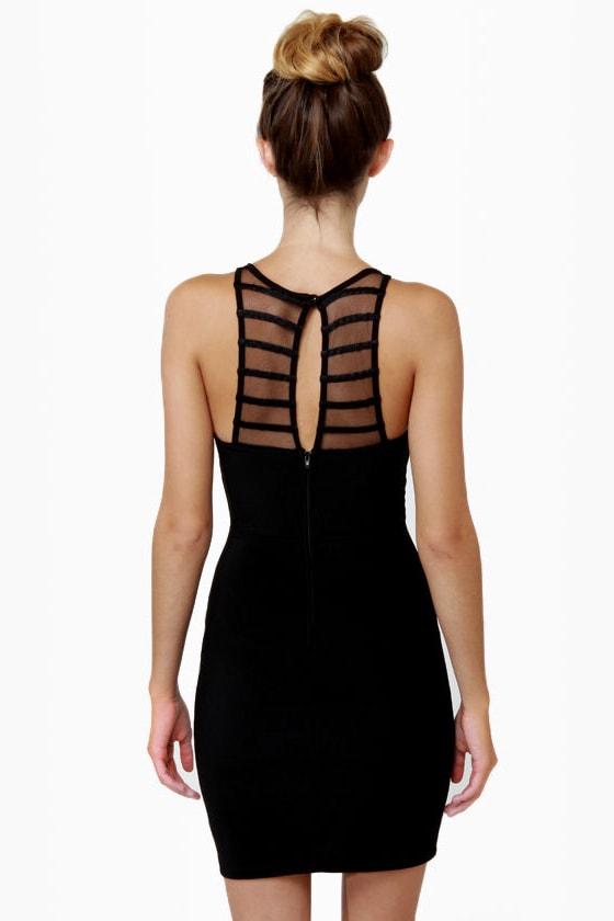 V-easy Does It Black Dress