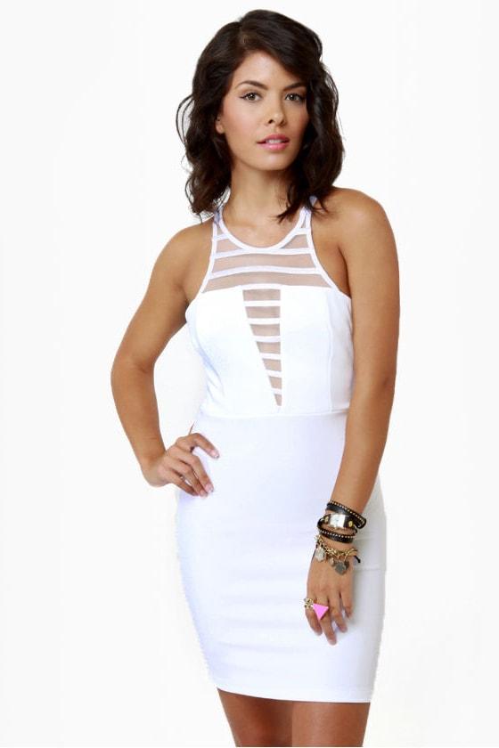 V-easy Does It White Dress