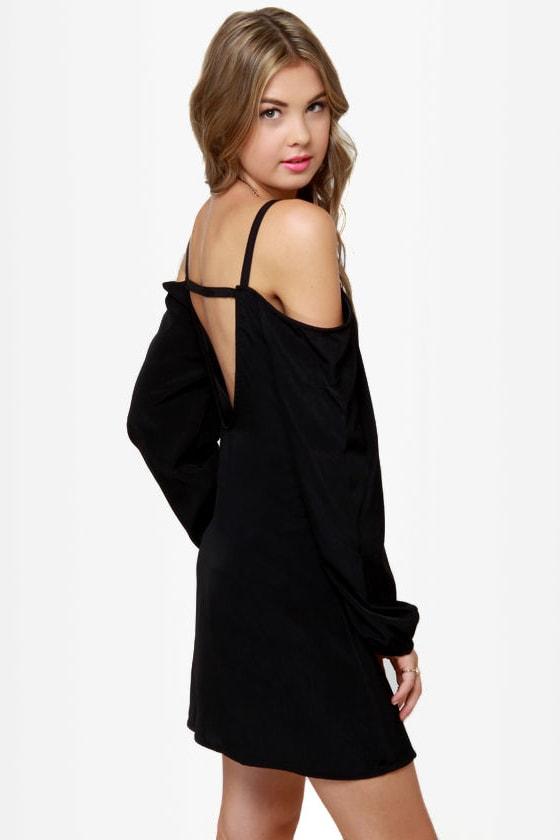 Strapquest Black Dress
