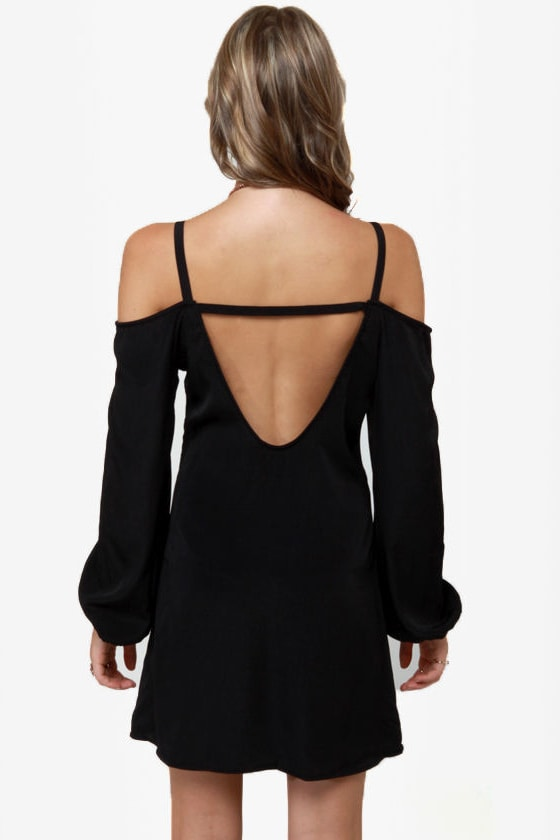 Strapquest Black Dress