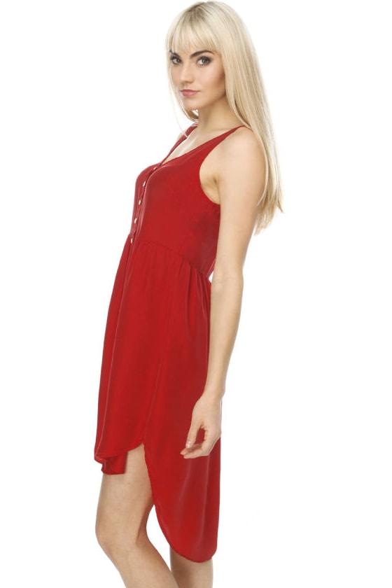 Walk the Talk Red Dress