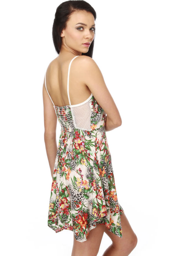 Costa Rica Rumba Floral Dress