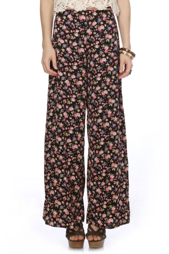 Butchart Gardens Floral Pants