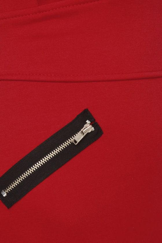 Zip Code Red Dress