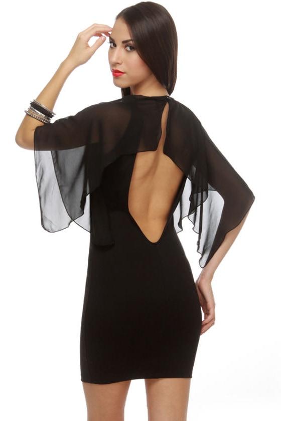 Conjure It Up Black Dress