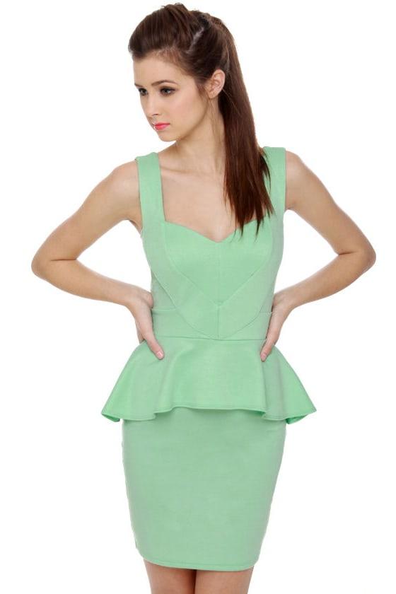 Wear in the World Light Mint Green Dress