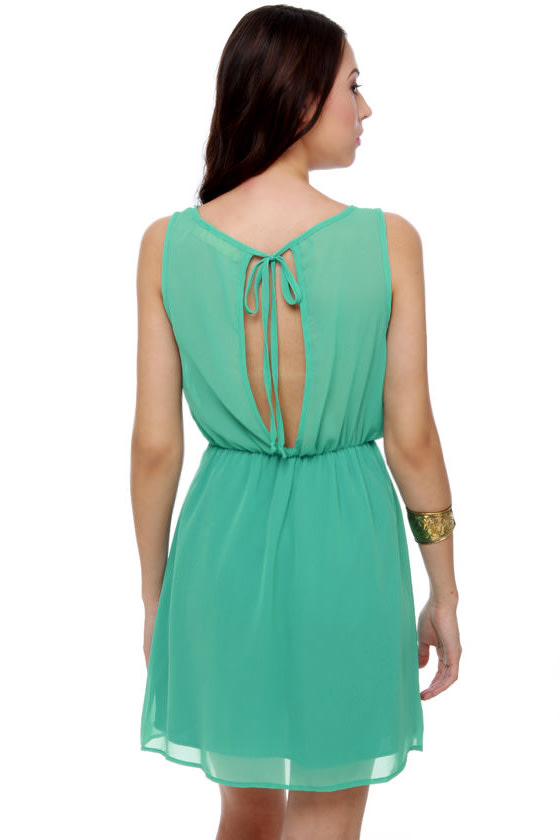 Elegant Extracts Turquoise Dress at Lulus.com!