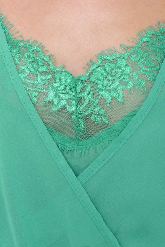 Elegant Extracts Turquoise Dress