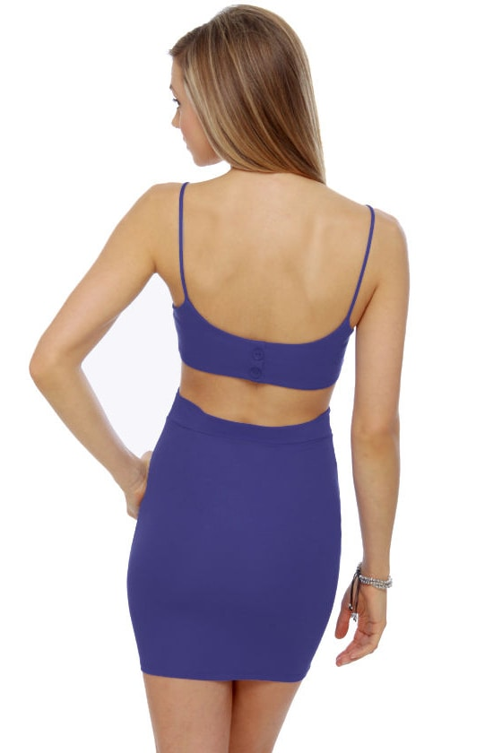 Fair to Middlin' Periwinkle Blue Dress at Lulus.com!