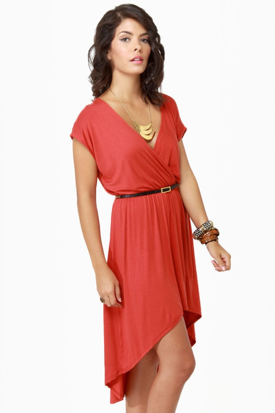 To Beach Her Own Rust Orange Dress at Lulus.com!