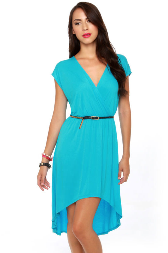 Blue and Turquoise Dresses