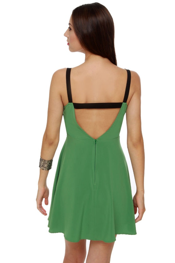 Y So Serious? Sage Green Dress