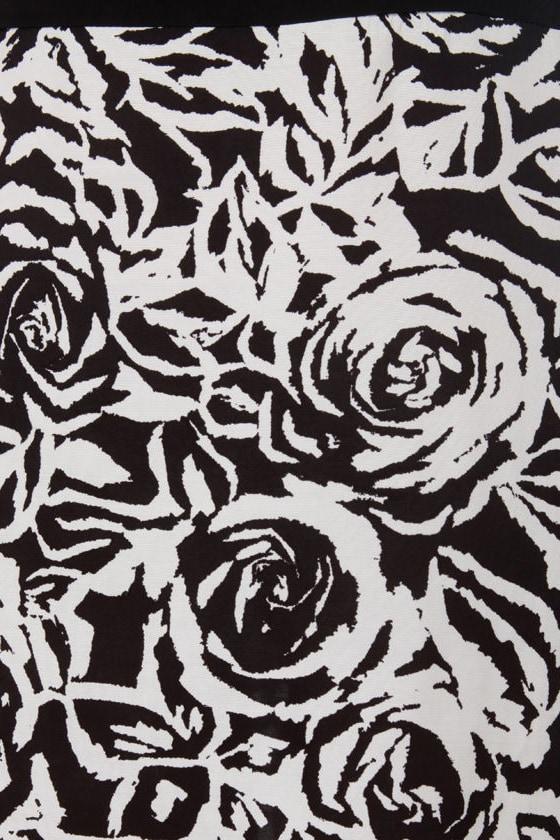 Infra-rad Color Block Print Dress
