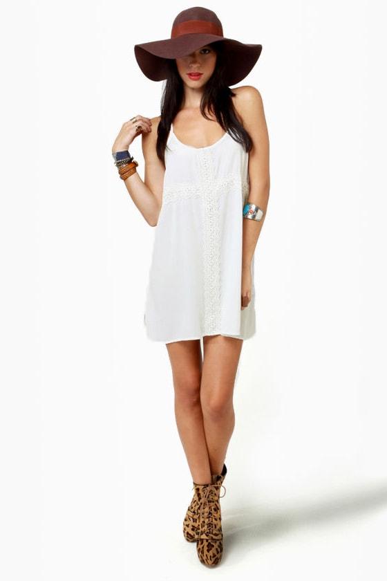 Fancy Free Ivory Dress