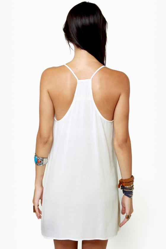 Fancy Free Ivory Dress at Lulus.com!