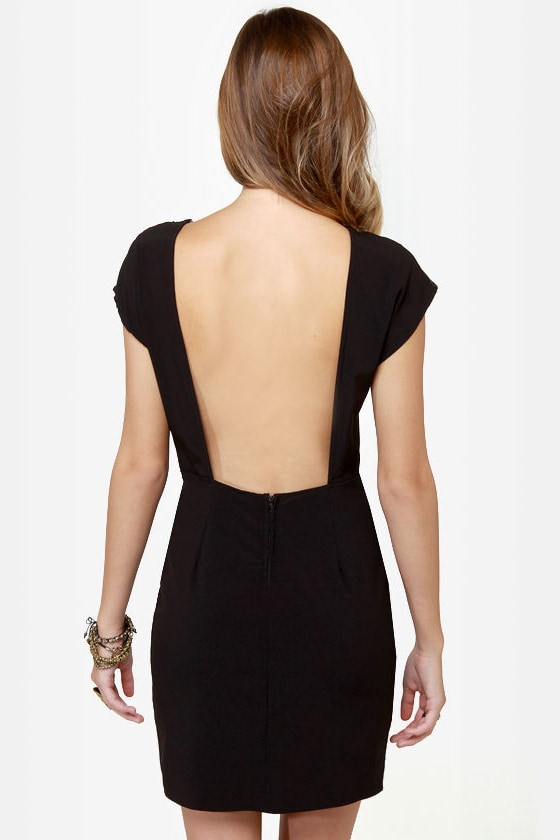 Touch of Class Black Lace Dress at Lulus.com!