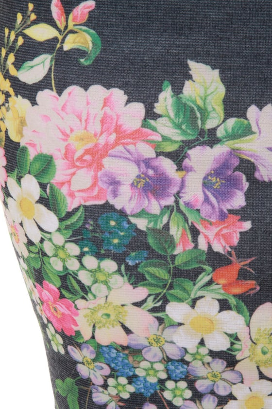 Wildflower Child Floral Print Dress at Lulus.com!