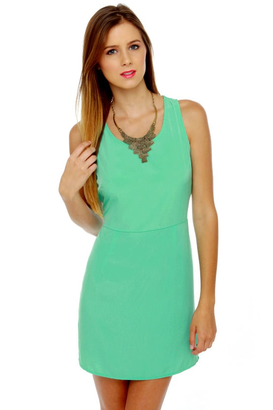 Yogurt Pop Mint Green Dress