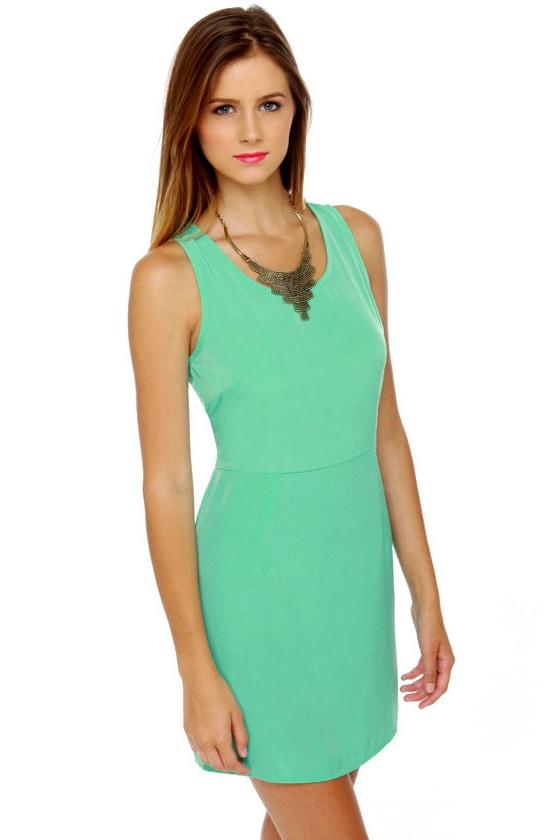 Yogurt Pop Mint Green Dress