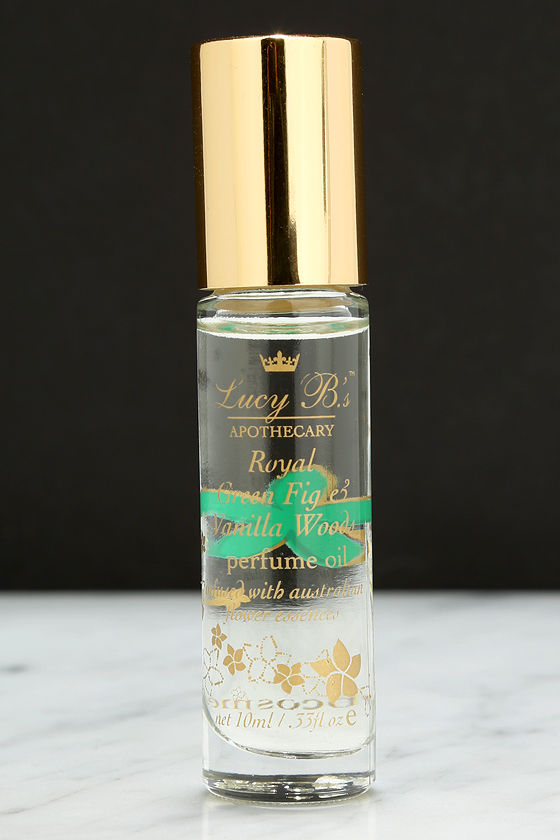Lucy B Royal Green Fig & Vanilla Woods Perfume Oil Roll-On at Lulus.com!