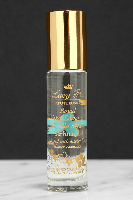 Lucy B Royal Water Lotus & Vanilla Musk Perfume Oil Roll-On at Lulus.com!