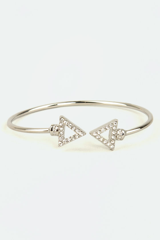 Arrows by Any Other Name Silver Bracelet at Lulus.com!