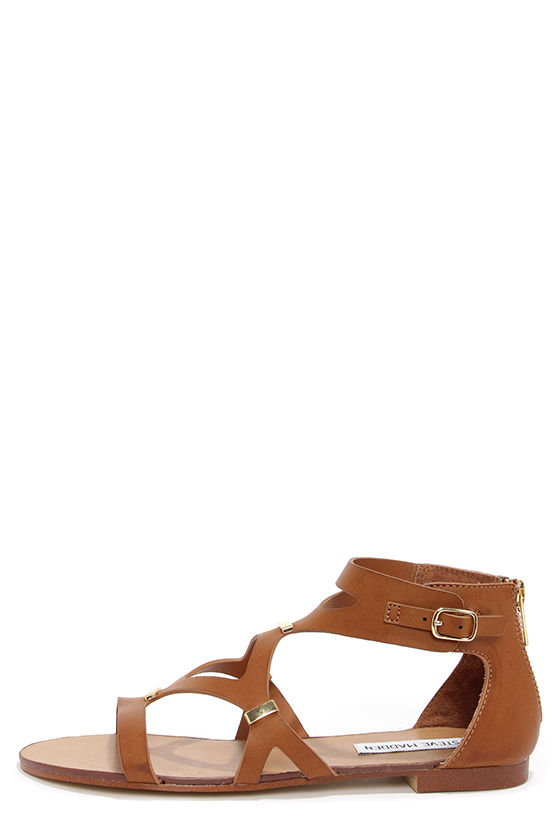 aacc1bb7069 Cute Gladiator Sandals - Brown Sandals - Tan Sandals -  59.00