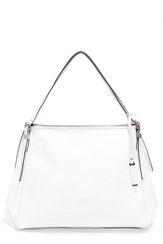 Clean Chic White Handbag at Lulus.com!