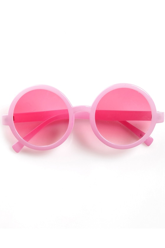Specs in the City Pink Sunglasses at Lulus.com!