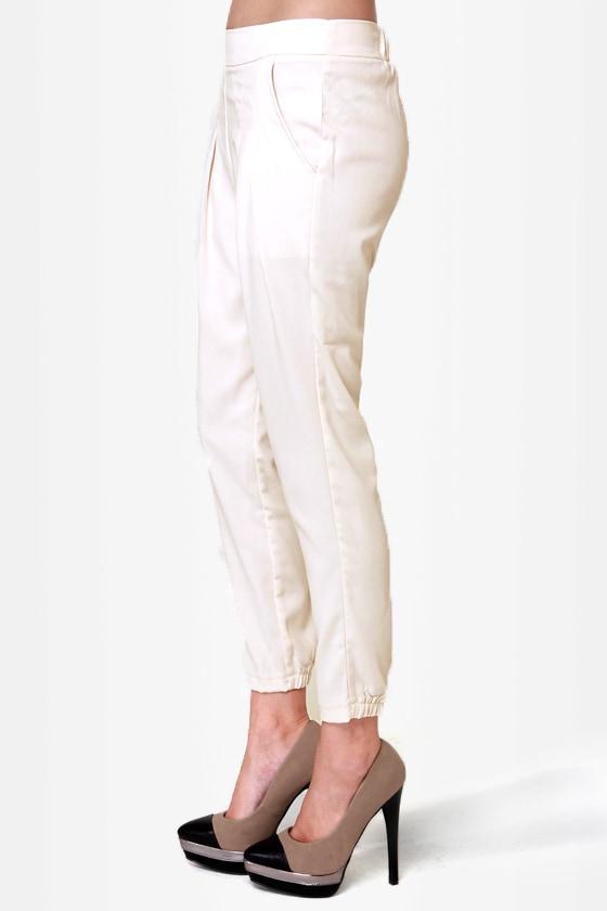Costa Blanca Coast to Coast Ivory Cropped Pants