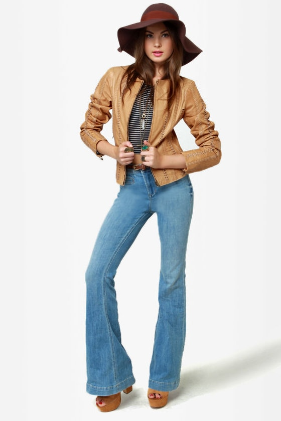 BB Dakota Antonia Buckskin Leather Jacket at Lulus.com!