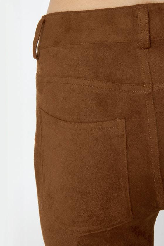 BB Dakota Astin Cognac Brown Pants