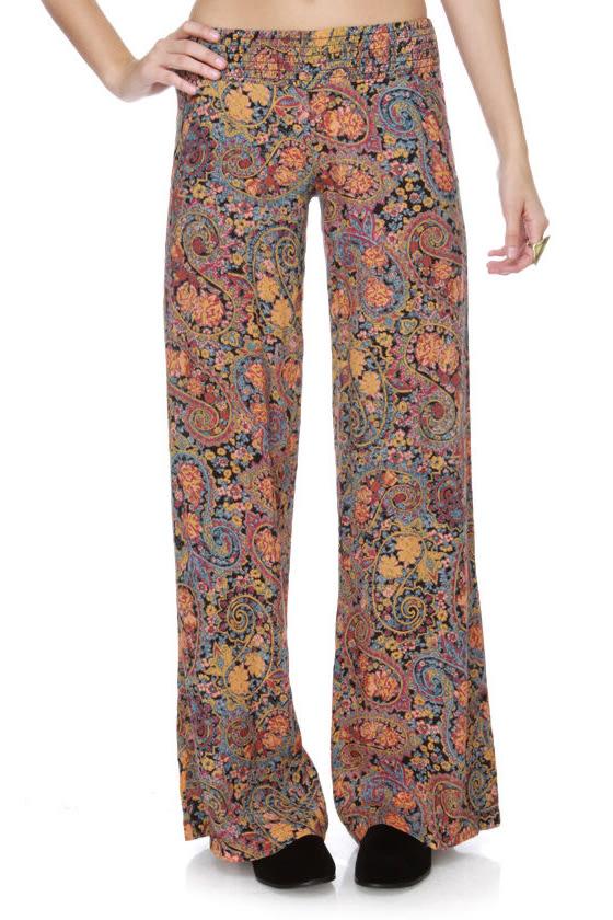 Billabong Lorekeet Paisley Print Pants