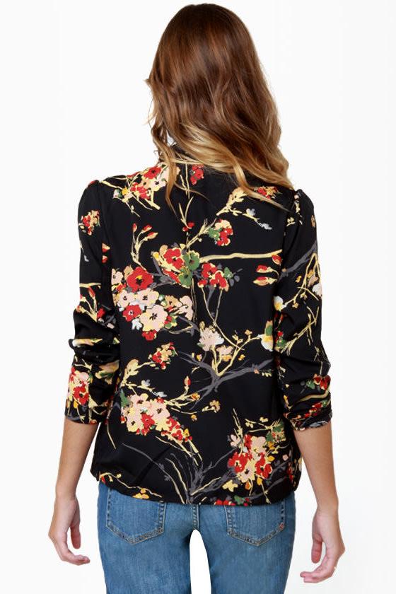 Darling Arabella Floral Print Top